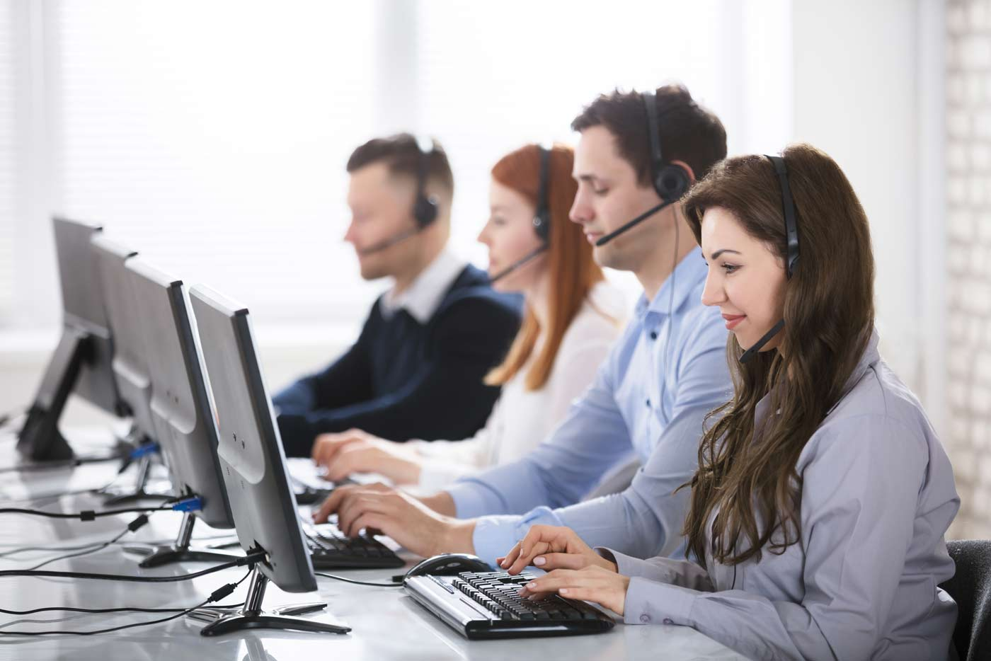 SynXis Voice Agent call center agents