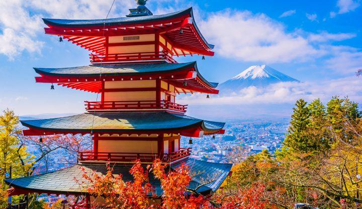 Japan overlook